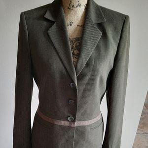 Kasper Two Piece Suit Skirt & Jacket Size 6